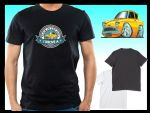 KOOLART BACK IN THE DAY Slogan Design for Retro Ford Anglia 105e mens or ladyfit t-shirt